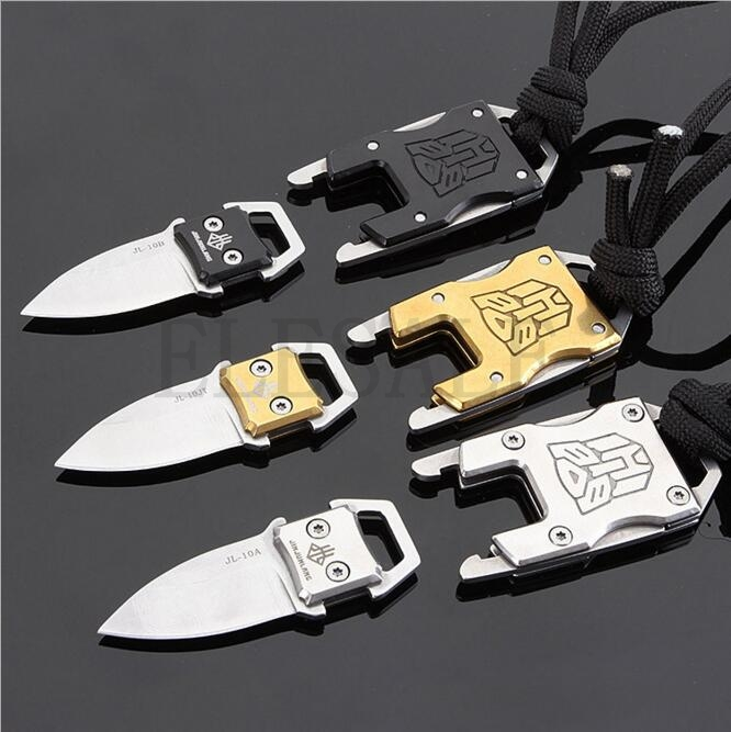 Outdoor Camping Survival Multi Functional Transformer Knife EDC Tactical With Packet Knife Self Defense