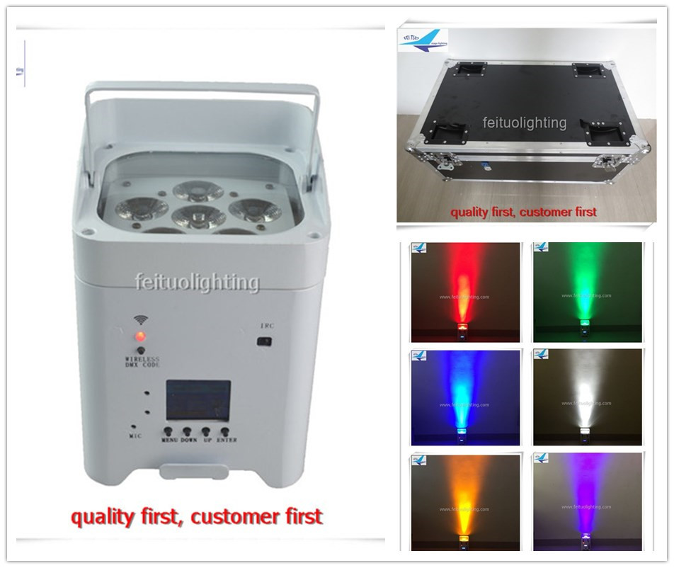 10pcs/lot flycase New Stage Uplight Wifi APP Smart 6 12w LED Par Light RGBWA UV 6IN1 Wir ...