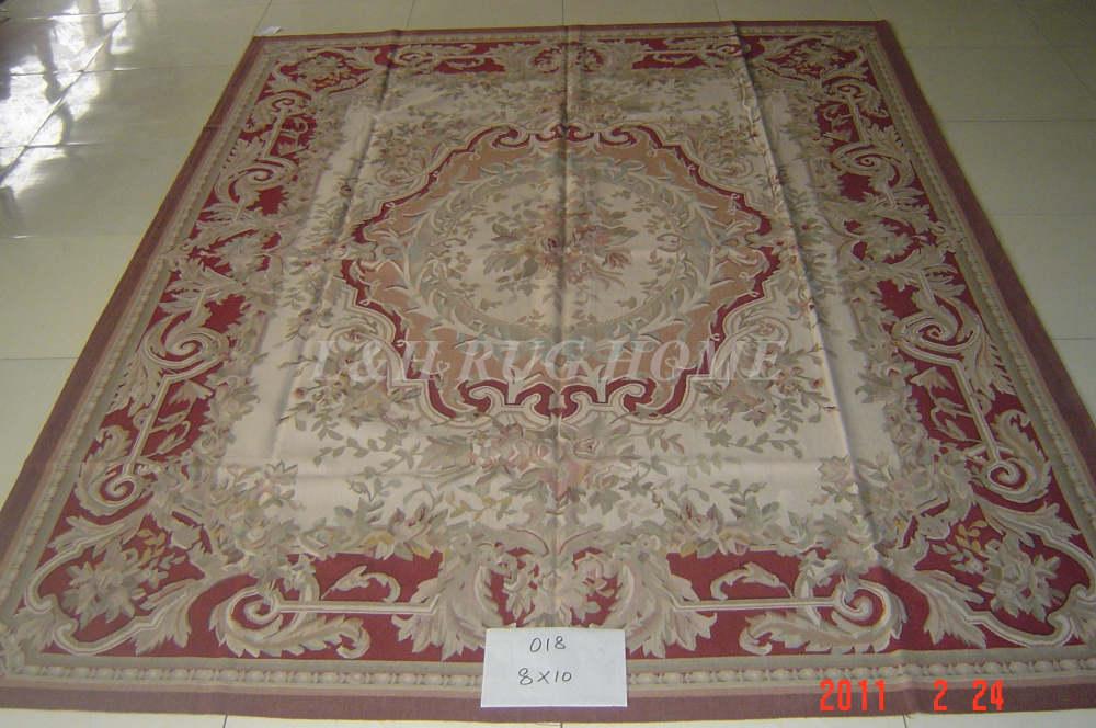 free shipping aubusson rugs black beige medallian aubusson rugs for home decoration - Aubusson Rugs