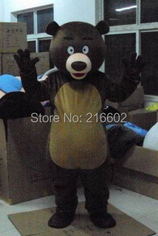 cosplay costumes Brown Bear Mascot Costume Fancy Dress Adult Size