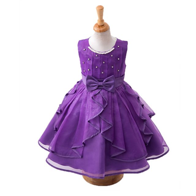 Summer New Baby Girl Dress Kids Dresses for Girls Children Clothing Sequin Sleeveless Princess Dress Girls Clothes