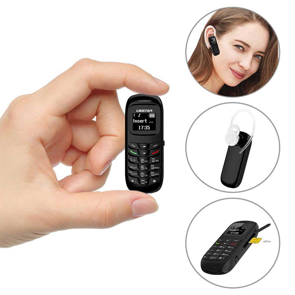 The Ideal Car Bluetooth Headset3 In 1 Function Earphone: Bluetooth Dialer Bluetooth Earphone And Mini Independent Cellphone