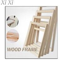 Diy живопись по номерам рамка Комбинированная рамка деревянная рамка 40x50 см/12x16 дюймов