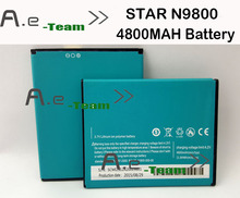 For STAR N9800 Battery 100 New Large Capacity 4800mAh lithium ion Battery for STAR N9800 Smartphone