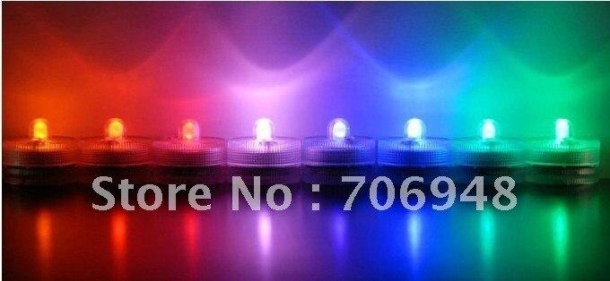 Новые 10 шт/партия светодиодные свечи rohs ce полноцветные водонепроницаемые