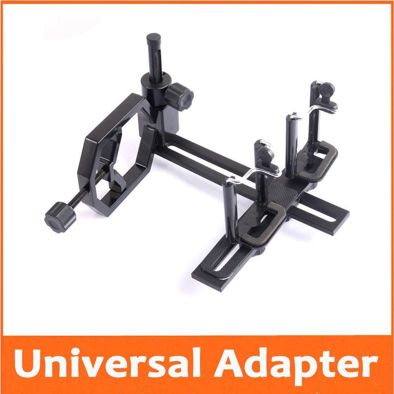Universal Metal Адаптер Разъем для Подключения Камеры iPhone Samsung Мобильный Телефон и Монокуляр Телескоп Фото