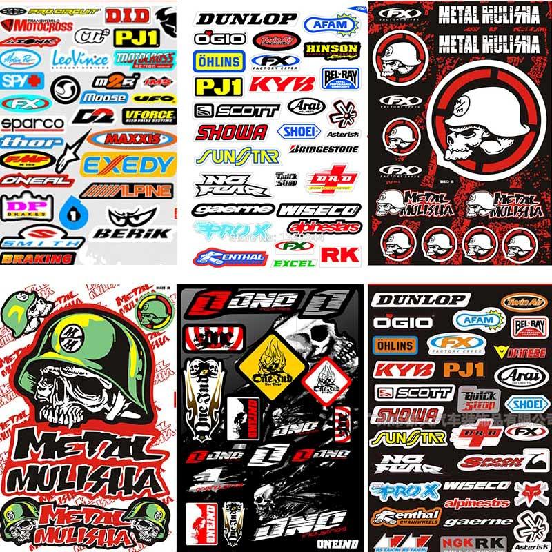 """VINYL Helmet Hard Hat Window Motorcycle Graphics Decals flag Stickers set 12/"""""""