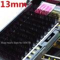 7 Tamanhos de Alta Qualidade 0.07 C onda mink cílios preta indivíduo extensão dos cílios falsos Grosso Falso Eye lash 8 MM para 14 MM