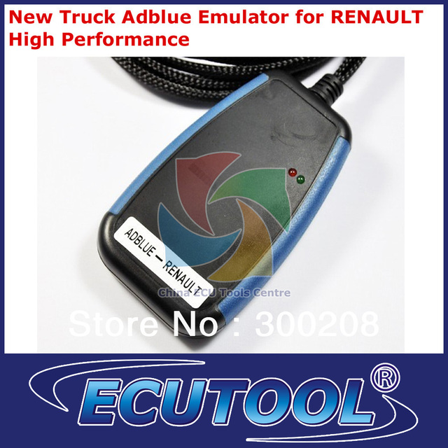 2014 High Performance New Truck Adblue Emulator Box for RENAULT Bypass Electronic Module of the Adblue System+HKP Free Shipping