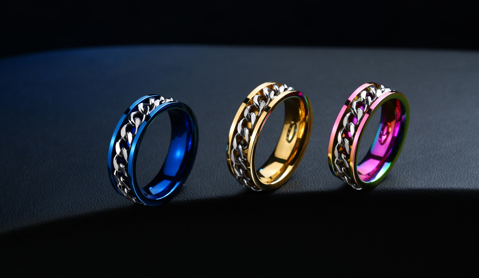 Soldier High Quality Multicolor Ring For Gay Stainless Steel