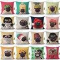 Animal Cão capa de almofada para crianças Decorativa Capas de almofadas para o Sofá Cadeira Casa Decoração Fronha Jogar Travesseiro Carro almofadas