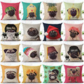 Animal cojín de Perro para niños Decorativo Fundas de cojines para el Sofá Silla Decoración Para El Hogar Funda de Almohada Throw Pillow Car almofadas