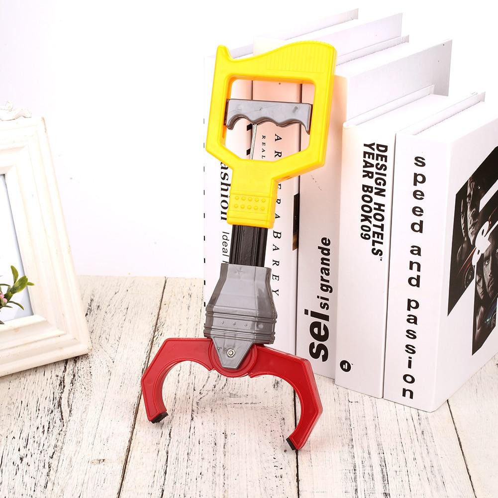 Робот захватывающая игрушка механический зажим манипулятор красное регулирование силы Пластиковые Желтые Детские игрушки запястье укрепляющие вещи захват