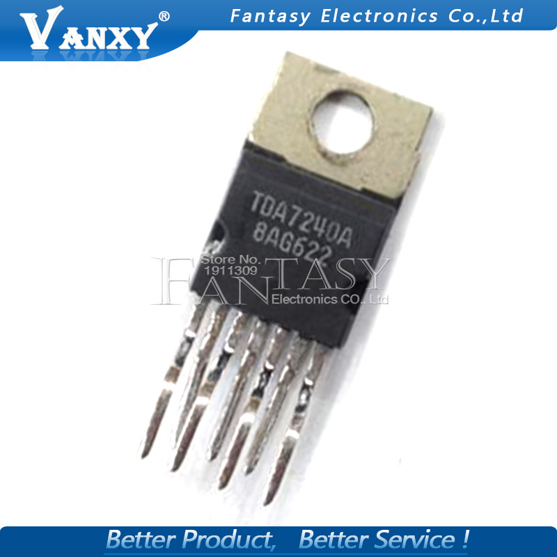 1PCS ST TDA7240AV TDA7240A TO-220-7 AUDIO AMP IC