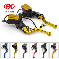 FX CNC 7 8 22MM Universal Fit 50 400CC Street Motorcycle Scooter Motorcycles Brake Clutch Master