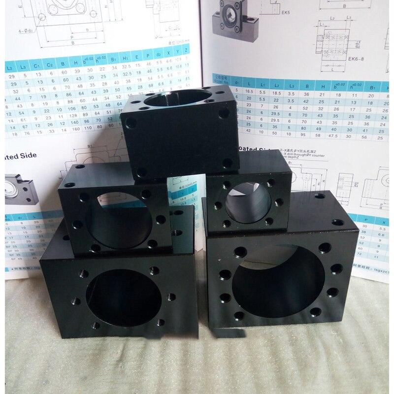 ball screw nut housing for DFU4010 steel 1pcball screw nut housing for DFU4010 steel 1pc