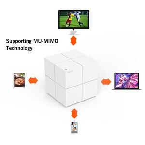 Image 3 - Tenda Nova MW6 Wi Fi беспроводной маршрутизатор Вся Домашняя сеть гигабитная WiFi система с 11AC 2,4G/5,0 GHz Wi Fi ретранслятор, приложение дистанционное управление