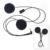 2016 Nueva Actualización 1 unid Fodsports Marca Suave Traje para V6 V4 Motocicleta Bluetooth Intercomunicador Del Casco de Auriculares Estéreo