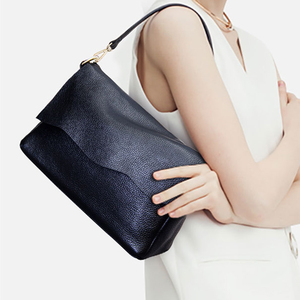 Image 5 - Genuine Leather Womens Shoulder Bags for Women Fashion Ladies CrossBody Bag Female Cow Leather Flap Handbags