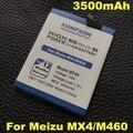 3.8 v 3500 mah batería batería del teléfono móvil para meizu mx4 mx bt40 4 m460 batería m461