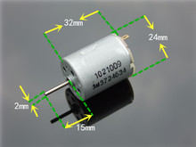 NEW 280 Strong magnetic Carbon brush DC motor 8000 to 10000 RPM 6V to 12V  motor / High Torque for Toy model accessories