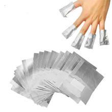 30/100 шт алюминиевая фольга для снятия ногтей Обертывания дизайн