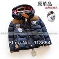 Nueva 2014 otoño invierno ropa de bebé niños prendas de abrigo bebé de la capa fresca wadded chaqueta de moda gruesa niños chaquetas y abrigos