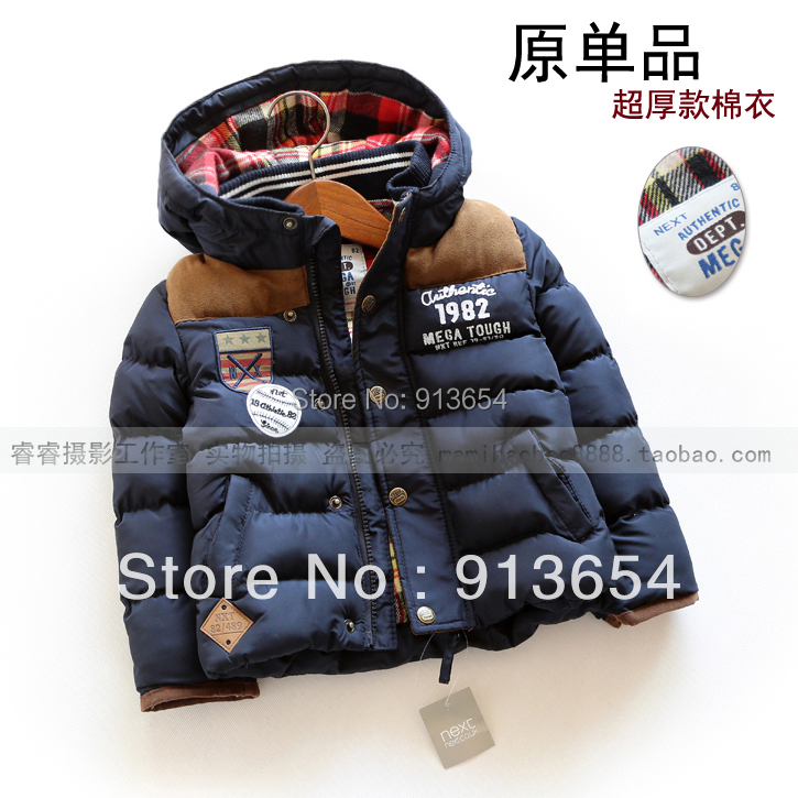 где купить new 2017 autumn winter coat baby clothing children outerwear baby boy coat cool wadded jacket fashion thick kids jackets & coats дешево