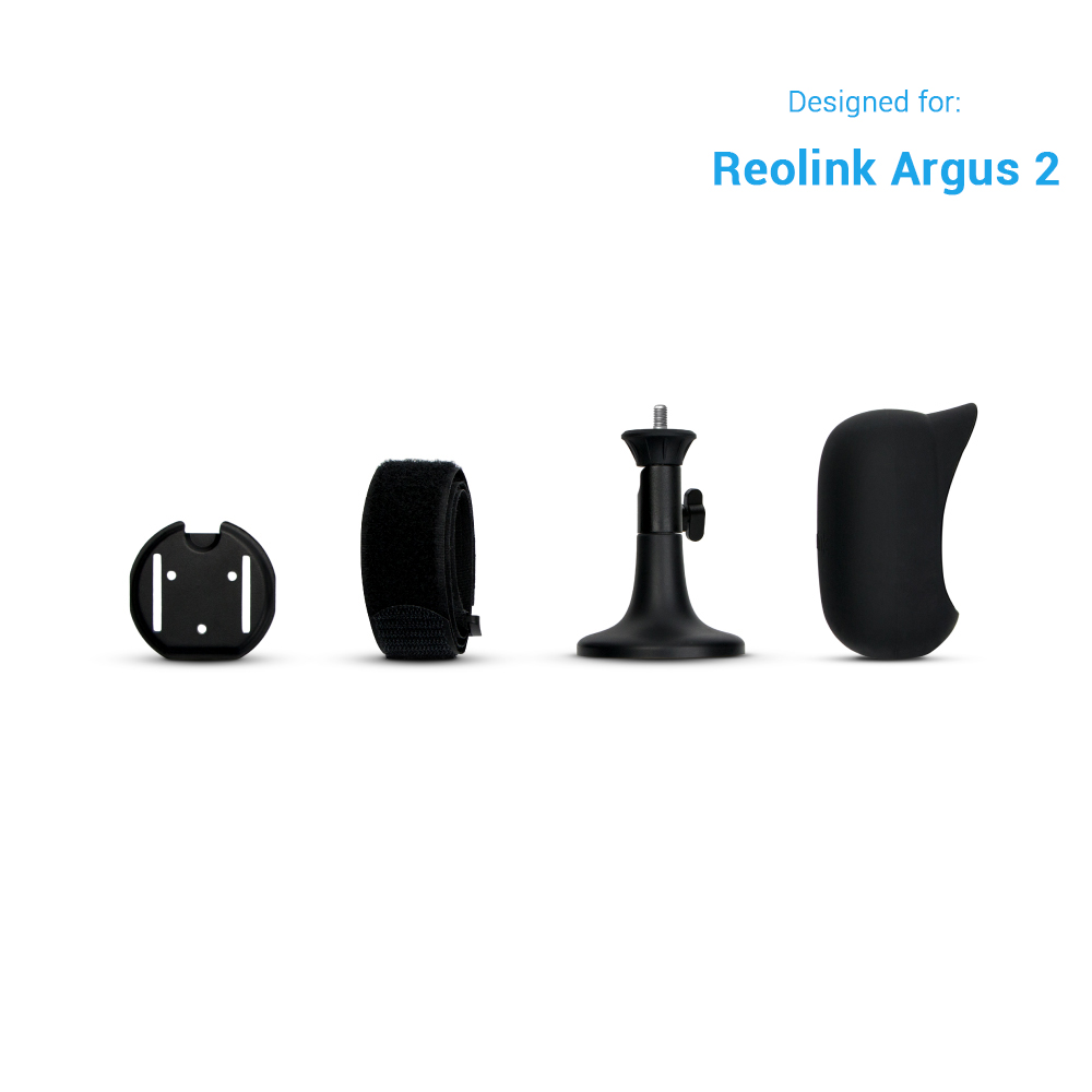 Reolink Argus 2 Skin Black Full Suit ONLY For Reolink Argus 2 IP Camera Not Suitable