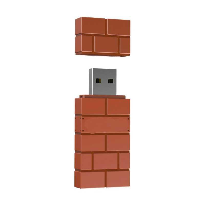 8BitDo USB سماعة لاسلكية تعمل بالبلوتوث محول ل ويندوز ماك التوت بي نينتندو سويتش دعم PS3 ذراع تحكم أكس بوكس واحد للتبديل
