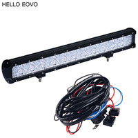 HELLO EOVO 7D 22 Inch 240W LED Light Bar for Work Indicators Driving Offroad Boat Car Tractor Truck 4x4 SUV ATV