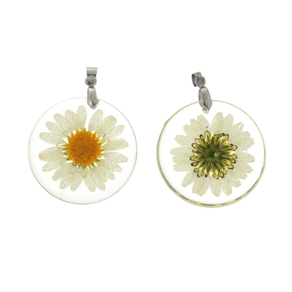 DoreenBeads Resin Charm Pendants Putaran Transparan Kuning Nyata - Perhiasan fashion - Foto 3