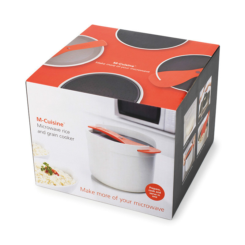 M-Cuisine Microwave Rice Cooker