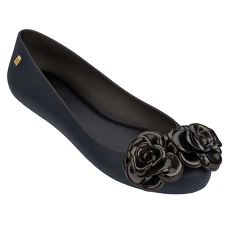 Melissa Sandals Women Casual Fashion Wedges Summer Shoes Ladies Hot Sale Flats Heel Melissa Woman Sandals