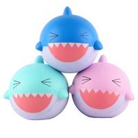 Cute Funny Stress Soft Shark Squishy Hand Squeeze Carton Slow Rising The Antistress Toy Kids Toy