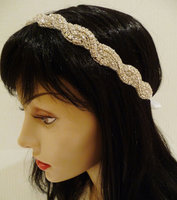 Wholesale Bridal Rhinestone Headpiece Girls Wedding Headband Crystal Headband for Women Bridal Wedding Hair Accessories