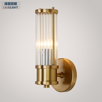Современный Фойе Спальня прикроватный коридор настенный светильник Настенный бра bean стеклянный шар настенный светодио дный светодиодный