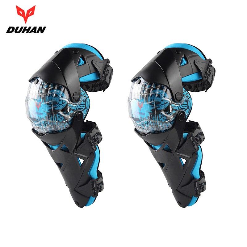 DUHAN Motorcycle knee pads Motocross knee PC brace high end Protective Gears kneepad protectors