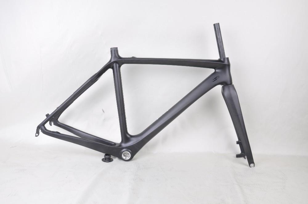 Heißer verkauf scheibenbremse cyclocross fahrradrahmen carbon ...
