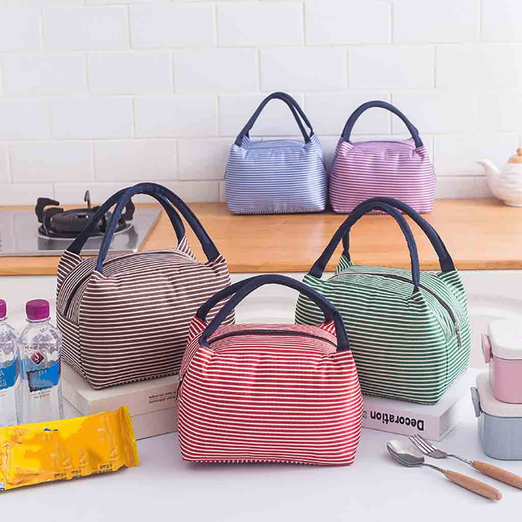 Lunch Bags For Women Lunch Bag Insulated Thermal Food Storage Bag Portable Travel Working Bento Box Loncheras Para Mujer ##0