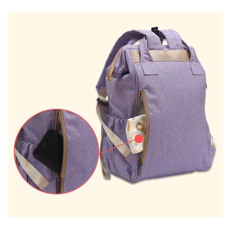 Shoulder Tote Bag Multifunction Diaper Bag Back Bag Waterproof Baby Outing Care Bag Pregnant Woman Bag for Baby Stroller in Diaper Bags from Mother Kids
