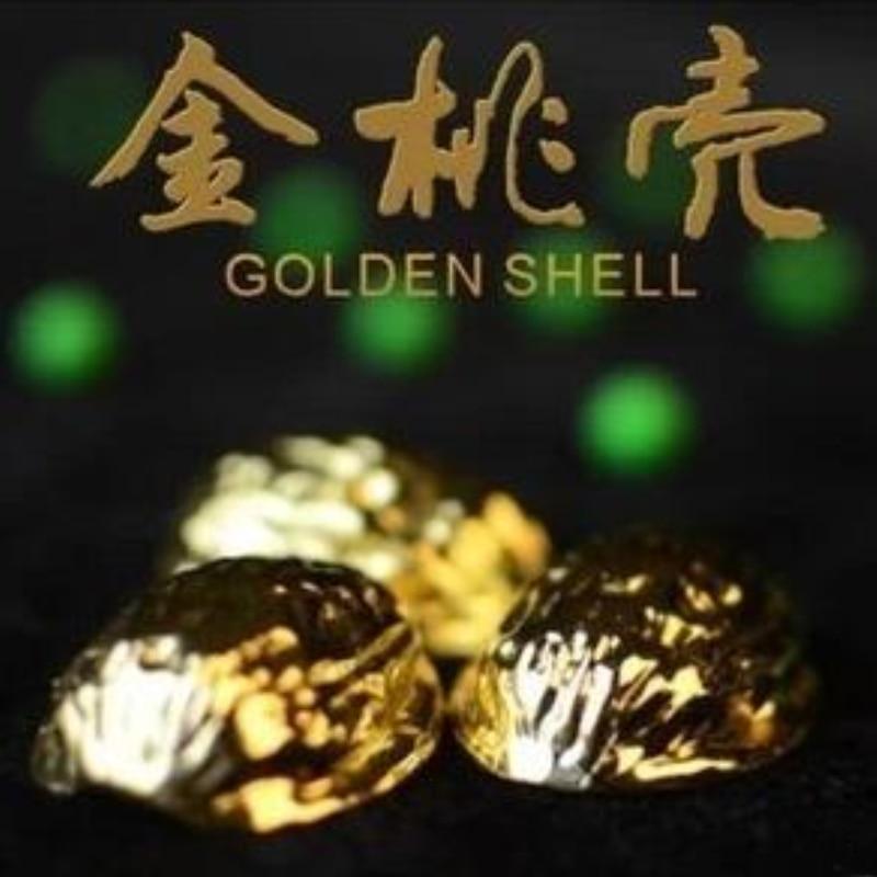 Livraison gratuite coquillages dorés tour de magie illusion scène gros plan stand-up accessoires de magie tours de magie