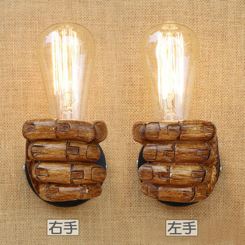 Edison Wall Sconce Retro Wall Lamp Fixtures Creative Personality Loft Industrial Vintage Wall Light