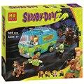 Bela Scooby Doo La Máquina del Misterio, Bloques de Construcción de Autobuses Juguetes figuras 10430 Compatible Ladrillos Juguetes Para Niños