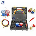 Auto Air Conditioning Refrigerant Manifold Gauge Set Diagnostic Tool R12,R22, R404a, R134a