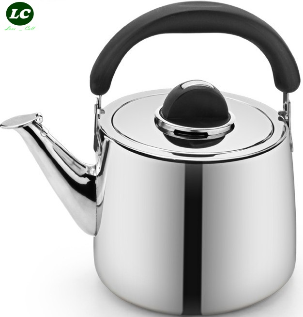 Outdoor Cookware 3 6 litre Kettle Pot Coffee pot Camping Thicken Stainless steel Water Cooker Teapot