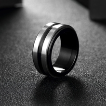 New Arrival Titanium Steel Couple Ring Fashion Design Ring for Men and Women Popular Jewelry Free Shipping