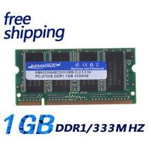 KEMBONA DDR 333 PC2700 1GB 200PIN SODIMM ddr 333Mhz Laptop MEMORY 200-pin SO-DIMM Ram DDR Notebook memory