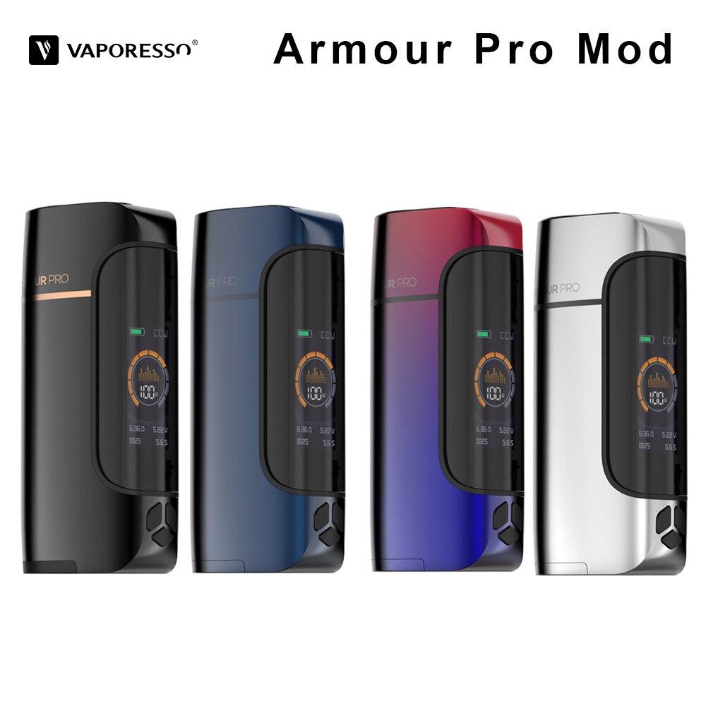 D'origine 100 W Vaporesso Armure Pro cigarette électronique Mod Boîte Mod idéal pour Cascade Bébé Réservoir VS Vaporesso vengeur Vaporisateur
