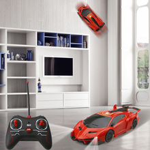 RC Climbing Wall Car Infrared Electric Toy RC Car Radio Remote Control Climbing Drifting Gravity Stunt Car Kids Electric Toy
